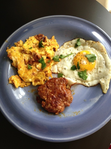florida girl in dc: Whole 30: Eggs & Chorizo Brunch, Two Ways