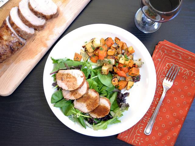 Soy Dijon Pork Tenderloin Meal - BudgetBytes.com
