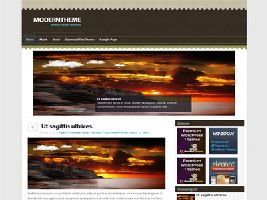 ArtisticBrown Free WordPress Theme