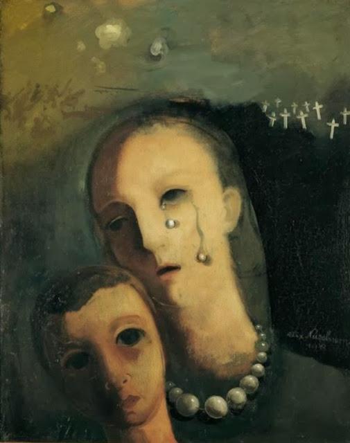 Felix Nussbaum - The Pearls