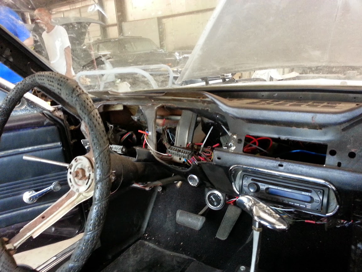 Experience With Ez Wiring Harnesses Vintage Mustang Forums Install This Is What My Current Looks Like
