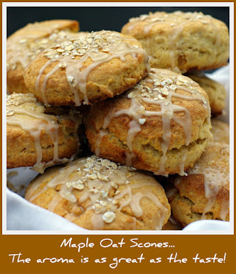 Within the Kitchen: Maple Oat Scones with Ginger
