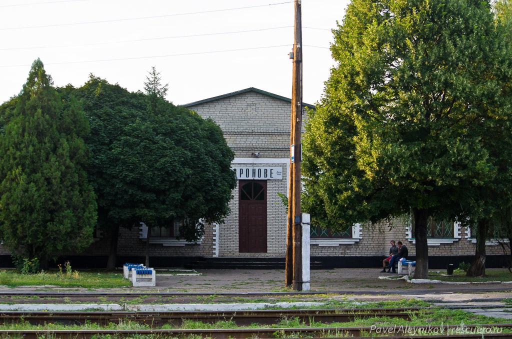 Здание станции Дроново