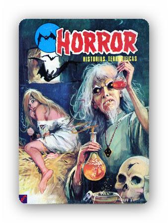 Horror: Historias terror�ficas [7][C�mic][Espa�ol]