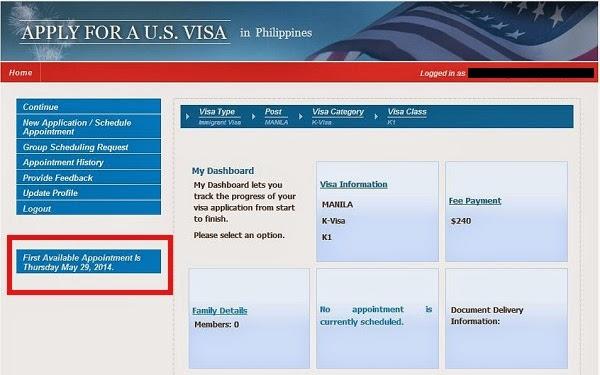 Sample Of Appointment Letter For K1 Visa