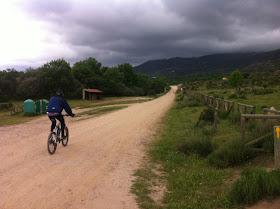 Ruta en bici de Madrid a Cercedilla, por el Camino de Santiago, mayo 2012