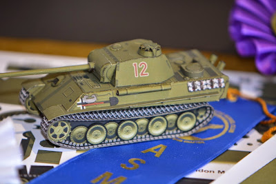 1/72 PAPER Panther. Amazing work by Julian