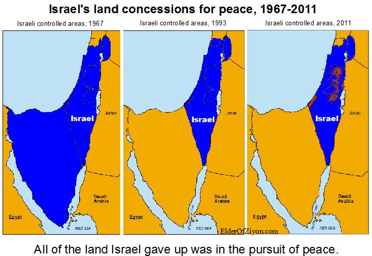 Debunking The Map That Lies Elder Of Ziyon Israel News - Israel maps