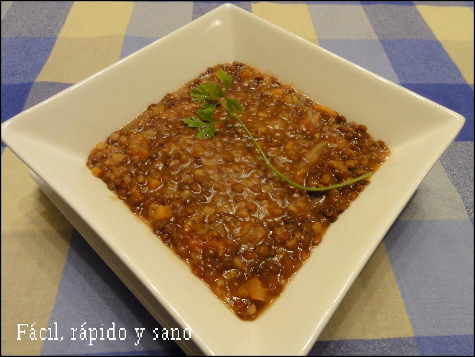F Cil R Pido Y Sano Cocina Para Gente Sin Tiempo Febrero 2011 ~ Recetas Faciles Primeros Platos