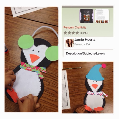 http://www.teacherspayteachers.com/Product/Penguin-Craftivity-1075887