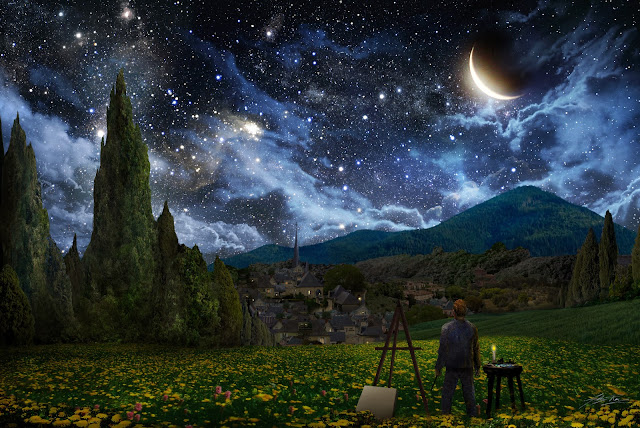 Picasa Photo - Starry Night Google Images Wallpaper