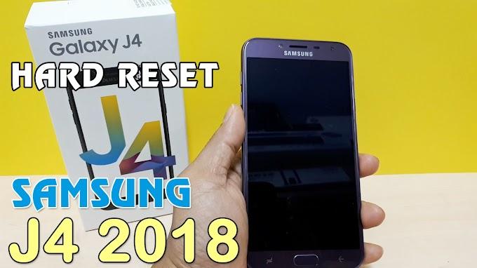 Hướng dẫn Hard Reset Samsung Galaxy J4 2018