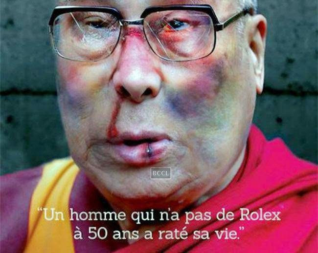Amnesty International's advertisement campaign 'Stop Torture' that showed badly bruised and beaten face of the Buddhist leader Dalai Lama caused stirred on the net. The advert went viral on the social networking sites and faced criticism across the globe though; the campaign's objective was to draw people's attention to the evils of torture.