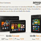 Kindle Fire HDX 8.9 inch @ Lampung Bridge
