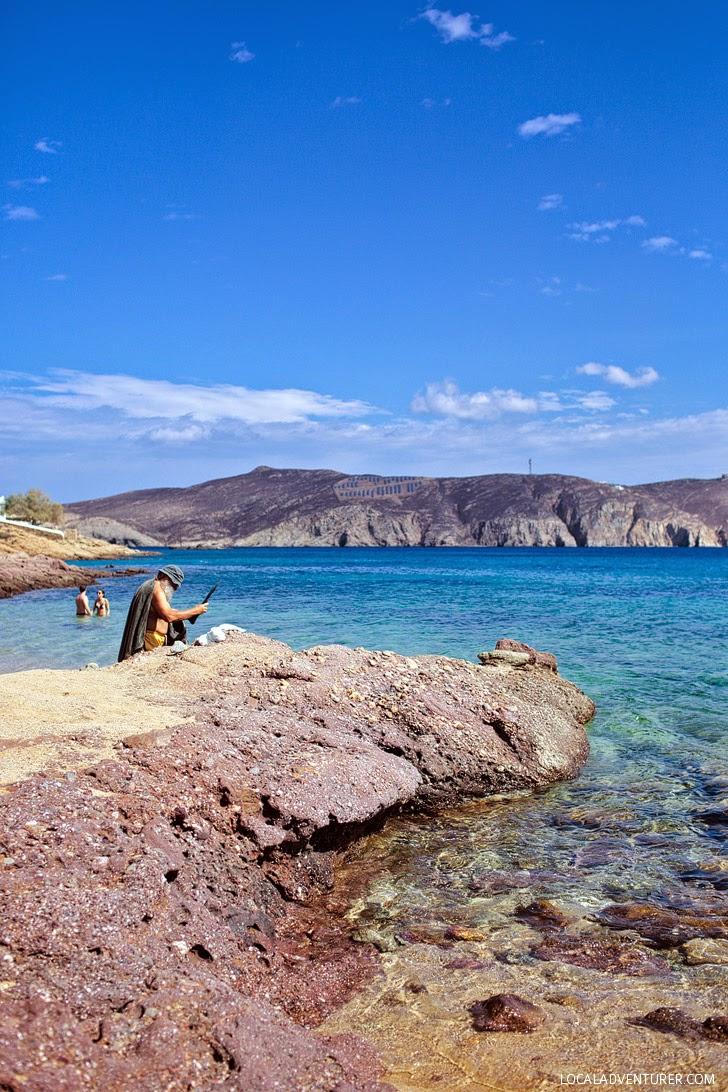 Agios Sostis Mykonos Beach.