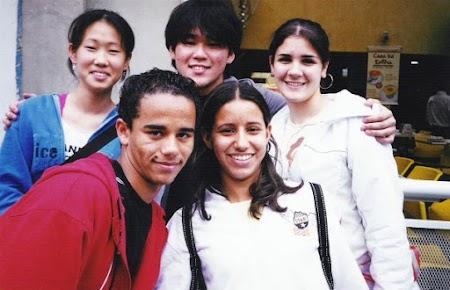 Camila, eu, Dani, Marcelo & Alessandra