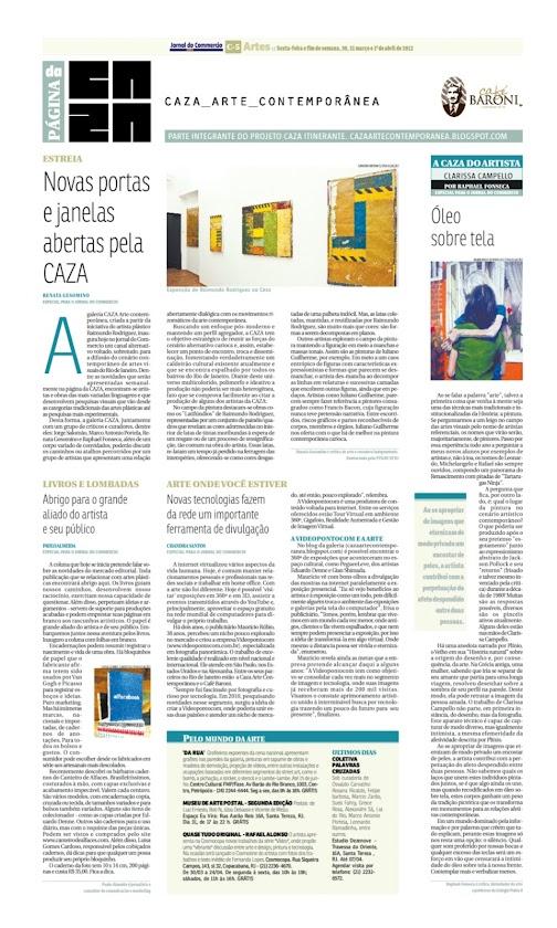 Página da Caza - 30 de Março de 2012