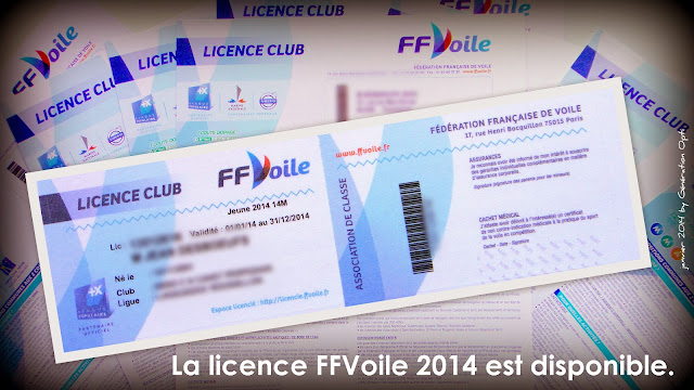 FFVoile licence club 2014