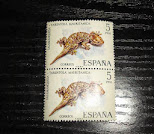 sellos Fauna - Tarentola Mauritanica