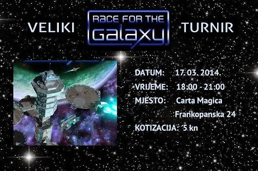 Turniri: Race for the Galaxy