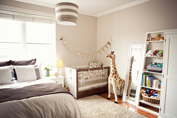 cute unisex baby nursery by STUDIO 1208