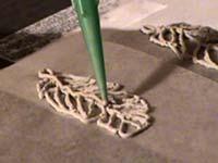 pendientes pluma repasar boquilla verde   Pendientes de filigrana
