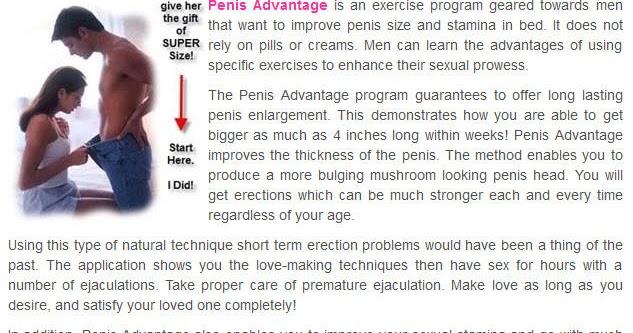 Penis technique Enlarge