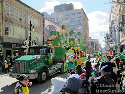 Montreal - St. Patrick Parade 2013