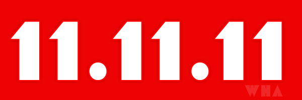 11.11.11 One Day Year of Revolution, Hacker Attack Expected?