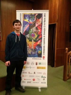 David Roiz Premio Nacional ed Biología