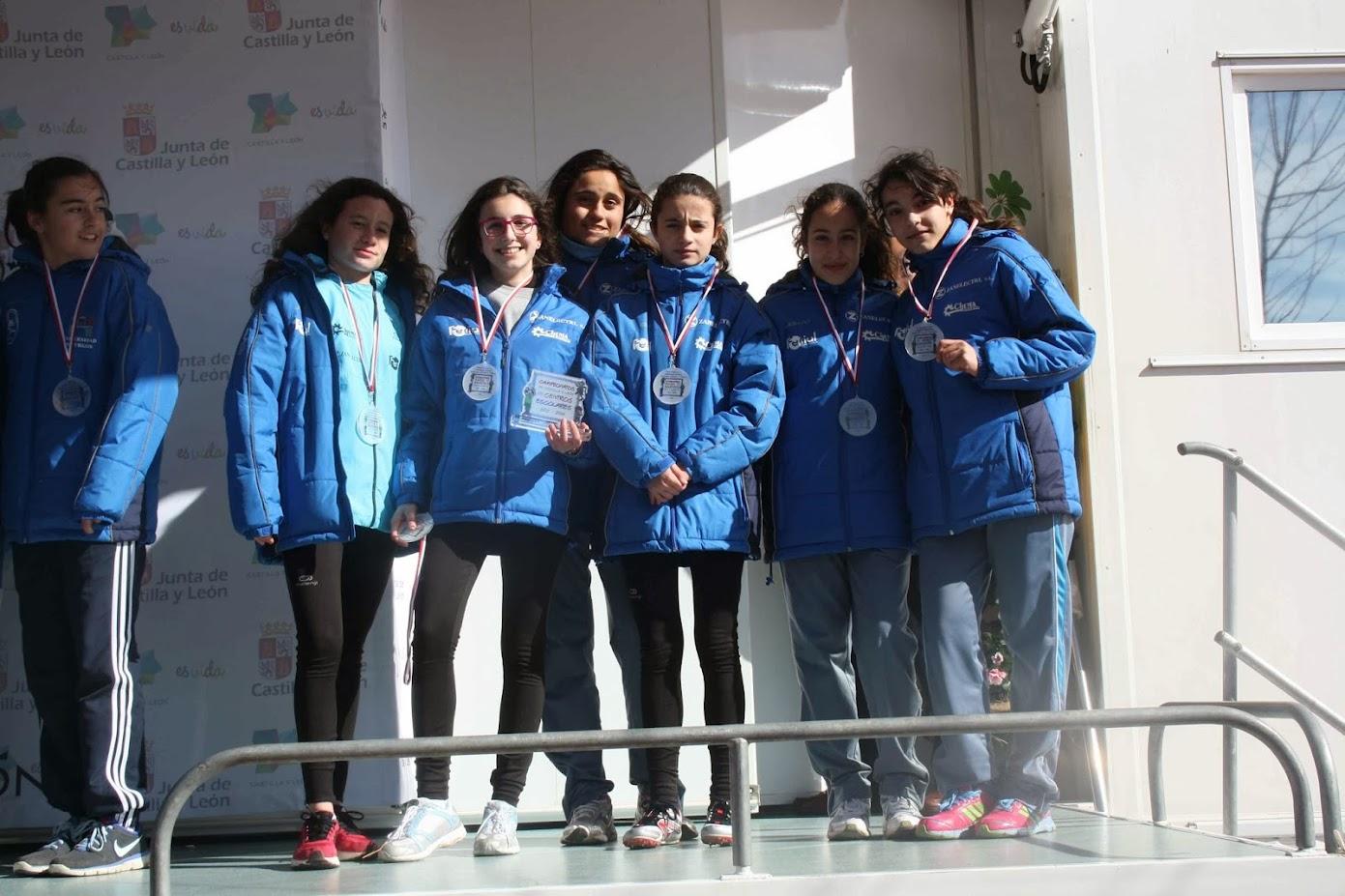 podium chicas arevalo