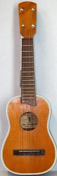 Aug Zimmermann leipzig German Soprano Ukulele