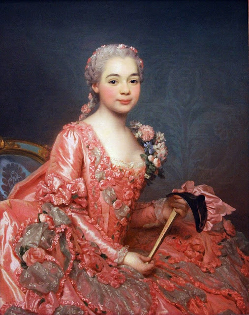 Alexander Roslin - Baroness de Neubourg-Cromière (1756)