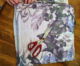 Repurpose clothes to sew a simple tactile quilt for your baby.