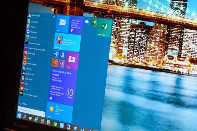 Microsoft sẽ tung ra Windows 10 Business Preview vào cuối tháng s