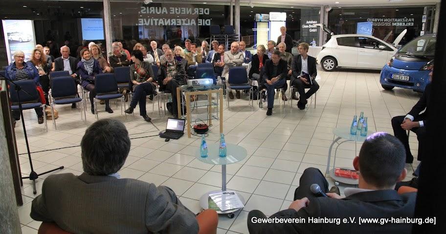 Mobilität in der Zukunft | Informationsveranstaltung des Gewerbeverein Hainburg e.V. | Tobias Kemmerer