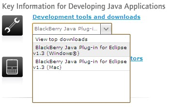 BlackBerry Java Application Development Environment Setup with ...