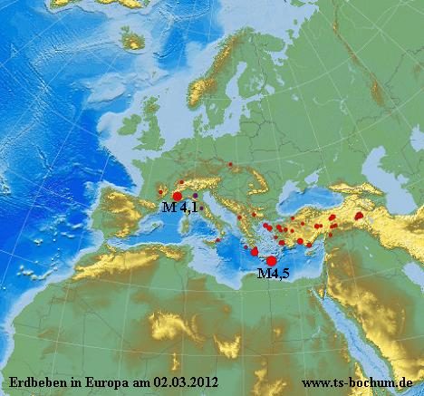 erdbeben europa 02.03.2012