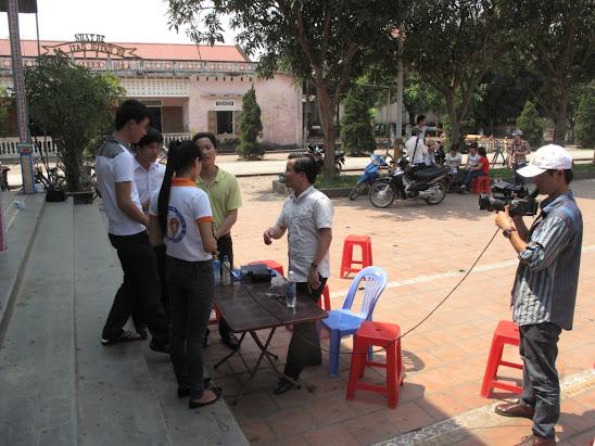 Sinh viên công giáo Vinh- Công tác chuẩn bị cho Thánh Lễ Quan Thầy Anselmo