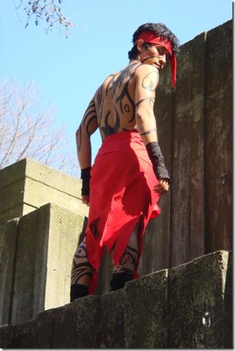 fate/hollow ataraxia cosplay - avenger by imran