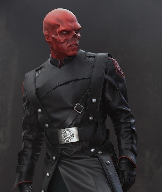 Hugo Weaving como Red Skull