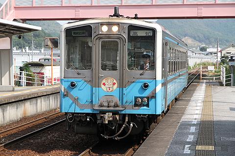 JR四国 キハ54系 佐川駅にて