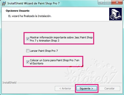 7-Descargar e Instalar Paint Shop Pro 7.04