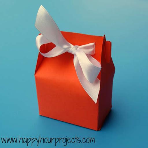 Caixinha de papel - embalagem para presente