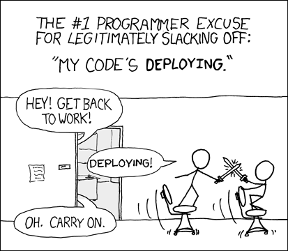 Programmer Excuses: 2012