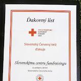 Ocenenie Slovenského Červeného kríža pre SCF