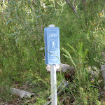 The Oaks Fire Trail trail marker (73974)