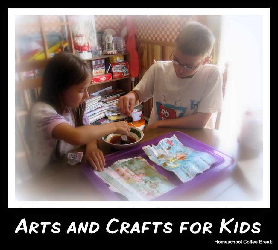 Arts and Crafts for Kids - Homeschool Coffee Break kympossibleblog.blogspot.com