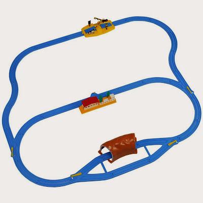 Mô hình gợi ý lắp ray cho tàu hỏa Thomas