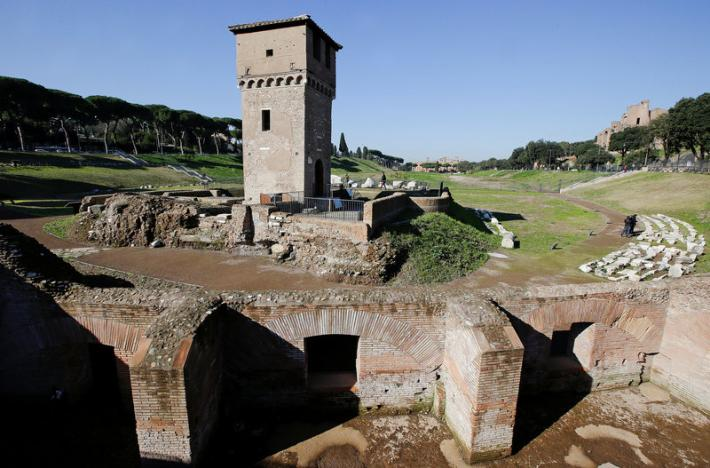 Italy: Rome shows off restored Circus Maximus